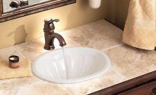 Moen Kingsley Oil Rubbed Bronze Low Arc Single Hole Bathroom Faucet 6102ORB