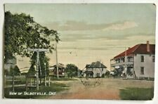 Antique Postcard View Of Talbotville, Ont c 1909