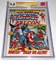 Captain America #154 CGC SS 9.8 Signature Autograph STAN LEE 1st Jack Monroe 50s