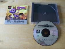 PLAYSTATION ONE GAME / PS1 - SPYRO 2 - GATEWAY TO GLIMMER - Platinum NO INLAY
