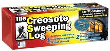 Creosote Sweeping Log SL-824-12 Fireplace/Woodstove/Chimney Cleaner