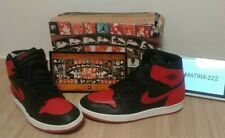 Nike New Jordan i 1 1994 retro black red bred sz12 banned 1985 og travis scott