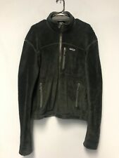 Patagonia Men's Classic Retro-X Deep Pile Fleece Jacket Dark Green Size M