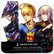 Dissidia Final Fantasy NT Cain / Kain Ramza Ace Coaster Square Enix Cafe VGC