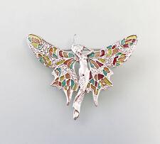 9927595 Broche 925 plata libélula Desnudo Estilo Moderno Colorido ESMALTADO