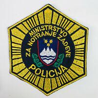 Slovenia Police Europe Policija Patch (K)