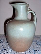 Frankoma Jug Woodland Moss Blue & Brown