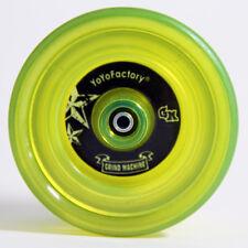 YoYoFactory Grind Machine Yo-Yo - Translucent Lime