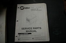 Miller Welder DIMENSION 400 POWER SOURCE Owner Parts Manual book catalog spare