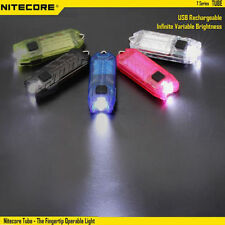 Nitecore T Series Tube 45LM USB Rechargeable LED TORCH Keychain VARIABLE BRIGHT