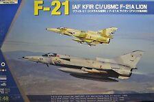 1/48 F-21 IAF KFIR C1/ USMC F-21A LION Model Kit by Kinetic