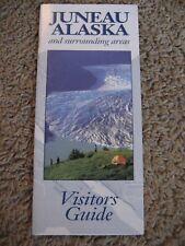 JUNEAU ALASKA, and surrounding areas, Visitors Guide / Map