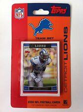 Detroit Lions 2006 Topps Football Card Team Set In Blister Pack