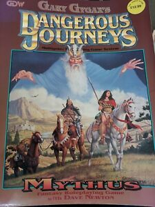 RARE Dangerous Journeys Mythus 1 - Gary Gygax P/B Fantasy Role Playing Book.VGC.