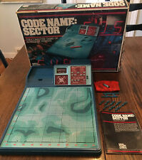 Vintage 1977 Code Name: Sector Electronic Game by Parker Brothers