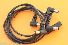 Daisy Chain 5 Entradas Pulpo Para Pedal Efecto Cable Guitarra Eléctrica