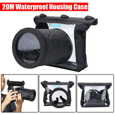 DSLR Camera Waterproof Underwater Housing Case Pouch Bag for Canon 550D 18-55