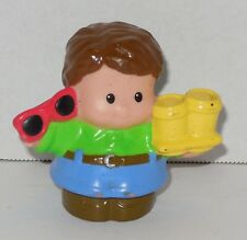 Fisher Price Current Little People Boy with boots and sunglasses FPLP