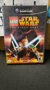 CIB LEGO STAR WARS THE VIDEO GAME NINTENDO GAMECUBE VIDEO GAME
