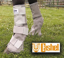 Cashel Crusader LEG GUARDS Mask Boots Fly Protection Control Size HORSE