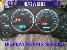 2007 GM Silverado Tahoe Avalanche Speedometer Gauge Cluster Display Repair