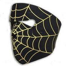 Biker Mask Spider Web  FULL FACE MASK