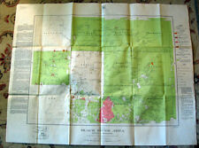 Ontario CANADA MAP 1928 Dept of Mines, BLACK RIVER AREA District of Timiskaming