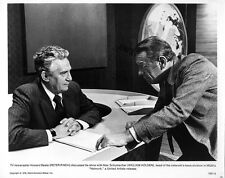 """VINTAGE MGM FILM STILL - PETER FINCH AND WILLIAM HOLDEN IN """"NETWORK"""" 1976"""