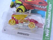 RED TRIM RIMS Hot Wheels DRAGON BLASTER 68/250 HW IMAGINATION 2013. New in Pack