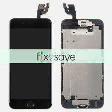 """iPhone 6 4.7"""" Black LCD Lens Display Touch Screen Digitizer Assembly Replacement"""