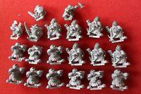 HHG Heartbreaker Models Fantasy Dwarves Dwarf Metal Figures 1995 Miniatures OOP