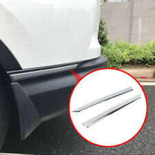 Accessories For Honda CRV 2017-19 Chrome Rear Bumper Angle Protector Cover Trim