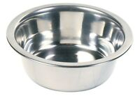 Trixie Quality Stainless Steel Dog Food Or Water Bowl 6 Sizes Of Dog Bowls