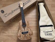 £139 Beautiful,Super Quality Spalted Maple Concert Ukulele Arched Back + Gig Bag
