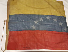 Rare Venezuela Flag 7 Star 3.7ft x 4.1ft Venezuela National Flag (A204)