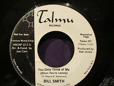 Bill Smith 'How Long? / You Only Think Of Me' PROMO 45