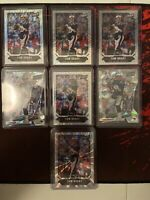 2018 Panini The National VIP Tom Brady SP Refractor Prizm Numbered Lot (7)
