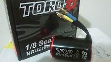 SkyRC Toro R8  8T Brushless Sensorless 4-Pole Motor for 1/8 Buggy  1800kv