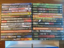 30 New Hunting Dvd Lot. Mostly Deer. 26 Deer Dvd'S. 4 Other. etc. Sports