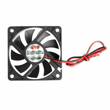 60mm x 60mm x 10mm Brushless PC Desktop Laptop Fan cooler 2 pin 12V 6010 0.16A