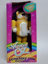 "Kurt Adler The Wizard of OZ 7"" Nutcracker Cowardly Lion NIB"