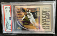 LEBRON JAMES 2019 Prizm GET HYPED Lakers Card PSA 10 GEM MINT