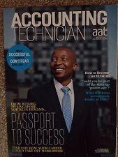 AAT Accounting Technician Magazine Nov/Dec 15 Passport To Success Issue