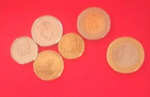 LOT COLLECTIONS SET OF 6 COINS 10 cent/10 dh MOROCCO 2020