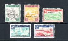 GUERNSEY-SARK EUROPA 1962 SET UNMOUNTED MINT