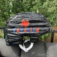 Molson Canadian Inflatable Hockey Helmet Molson Canadian Beer Advertisement NHL