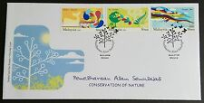 2009 Malaysia Conservation of Nature 3v Stamps FDC (Melaka Cancellation)