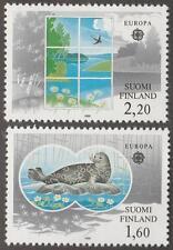 Finland #735-36 MNH Europa set Seal 1986 cv $8