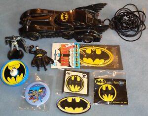 Vintage 1980s Batman Mixed Colectibles Lot! DC Comics! Great Stuff!