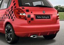 Skoda Fabia Dark Rear Door Decorative Foil - Fabia 5J (5J0071733)